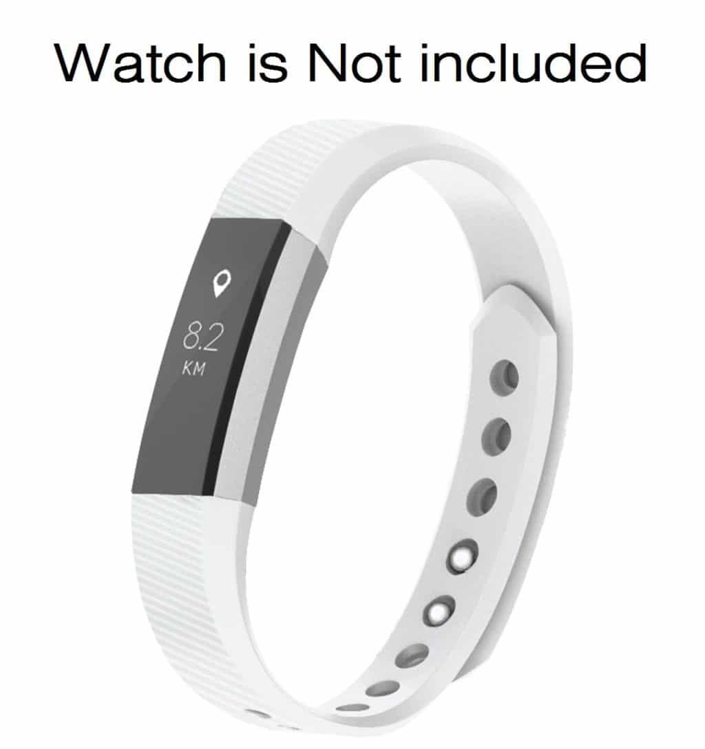 Invella Silicon Strap For Fitbit Alta Hr White Invella