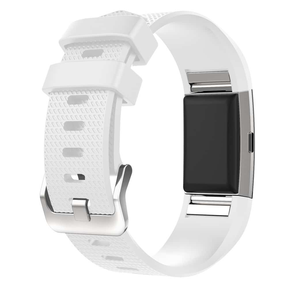 invella Silicon Straps for Fitbit Charge 2 / HR (White) - Large