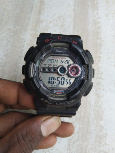 Casio G-Shock Watch Strap with Watchcase - Black photo review