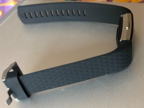 Fitbit Charge 2 & Charge 2 HR Silicon Replacement Strap (Black) - Small photo review